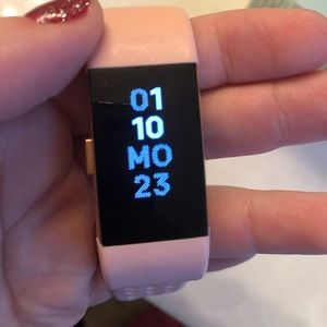 Accessories - Fitbit Rose Gold Charge 2
